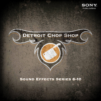 Detroit Chop Shop Sound Effects Series: Volumes Six through Ten DVD