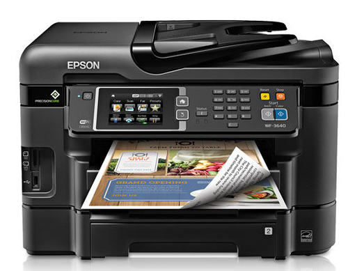 WorkForce WF-3640 All-in-One Printer