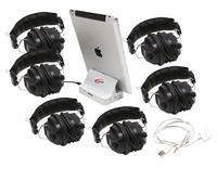 iPad Jackbox with six-3068AV Headphones