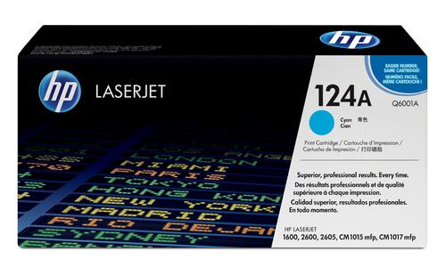 124A Original LaserJet Toner Cartridge (Cyan)