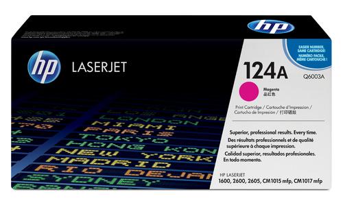 124A Original LaserJet Toner Cartridge (Magenta)