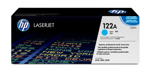 122A Original LaserJet Toner Cartridge (Cyan)