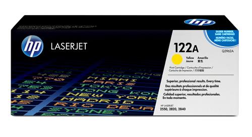 122A Original LaserJet Toner Cartridge (Yellow)