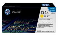124A Original LaserJet Toner Cartridge (Yellow)