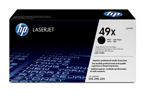 49X High Yield Original LaserJet Toner Cartridge (Black)