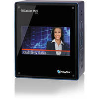 TriCaster Mini (w/ Integrated Display and 2 Internal Drives)