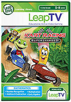 LeapTV Learning Game: LeapFrog Kart Racing: Supercharged!