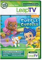 LeapTV Learning Game: Nickelodeon Bubble Guppies