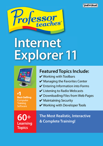 Professor Teaches Internet Explorer 11 (Electronic Software Delivery)