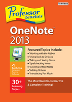 Professor Teaches OneNote 2013 (Electronic Software Delivery)