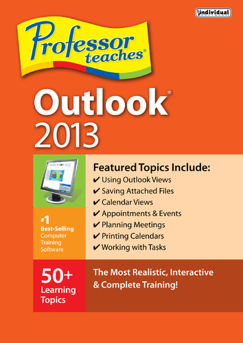 Professor Teaches Outlook 2013 (Electronic Software Delivery)