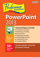 Professor Teaches PowerPoint 2013 (Electronic Software Delivery)