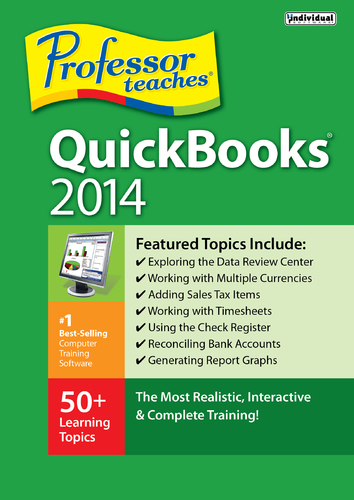 Professor Teaches QuickBooks 2014 (Electronic Software Delivery)