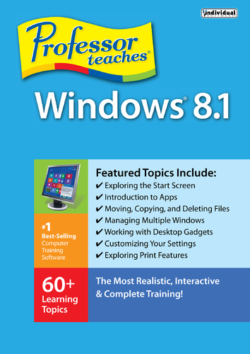 Professor Teaches Windows 8.1 (Electronic Software Delivery)