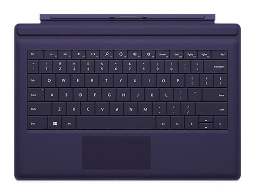Microsoft Surface Pro 3 Type Keyboard Cover (Purple)