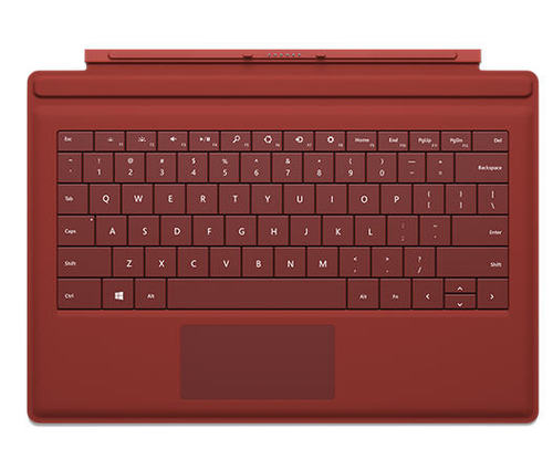 Microsoft Surface Pro 3 Type Keyboard Cover (Red)