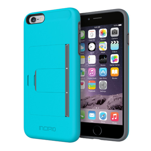 Stowaway Case for iPhone 6 Plus (Blue/Gray)