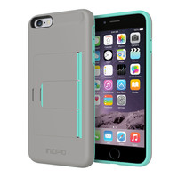 Stowaway Case for iPhone 6 Plus (Teal/Dark Gray)