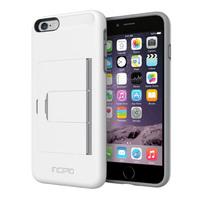 Stowaway Case for iPhone 6 Plus (White/Dark Gray)