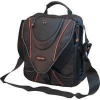 "13.3"" Mini Messenger Case (Black/Orange)"