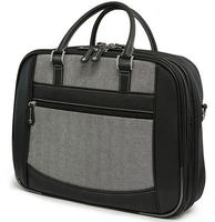 "16"" ScanFast Checkpoint Friendly Herringbone Element Briefcase"