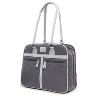 "16"" Verona Laptop Tote (Graphite)"