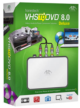 VHS to DVD 8.0 Deluxe for Win