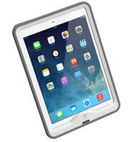 LifeProof nuud Case for iPad Air (White/Gray)