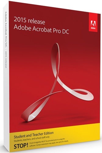 Acrobat Pro DC Student and Teacher Edition
