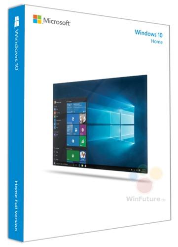 Microsoft Windows Home 10 32/64-bit - 1 PC USB Flash Drive