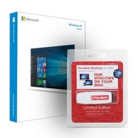 Parallels Desktop for Mac Student w/Free 4GB USB Flash Drive with Microsoft Windows 10 32/64-bit