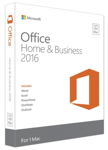 Office Mac Home & Business 2016  (Product Key Card Only)