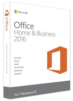 Microsoft Office Home and Business 2016 (Product Key Card Only)