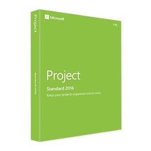 Project Standard 2016 (Product Key Card Only)