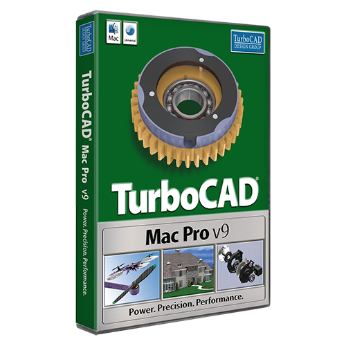TurboCAD Mac Pro v9 (Electronic Software Delivery)