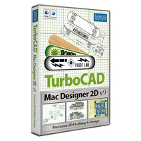 TurboCAD Mac Designer 2D v9 (Electronic Software Delivery)