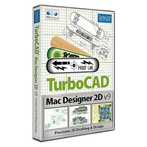 TurboCAD Mac Designer 2D v9 (Electronic Software Delivery)