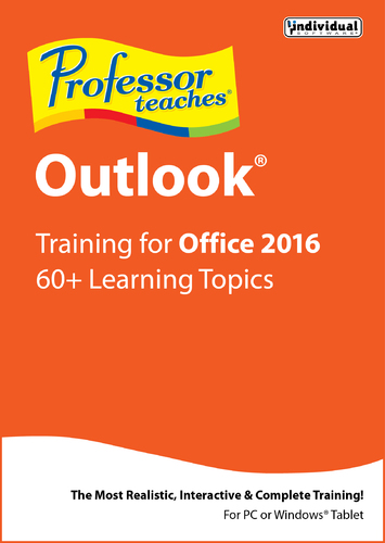 Professor Teaches Outlook for Office 2016 (Home Edition) (Electronic Software Delivery)