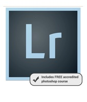 Creative Cloud Photography Plan (One Year Subscription) with Free Mastering Adobe Lightroom Online Course