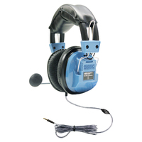 Deluxe Headset with Gooseneck Mic and In-Line Volume Control plus TRRS Plug
