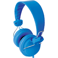 TRRS Headset with In-Line Microphone - Blue