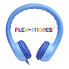 Hamilton Buhl Flex Phones Foam Headphones - 3.5mm Plug Blue