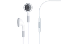Ear Buds, In-Line Microphone and Play/Pause Control