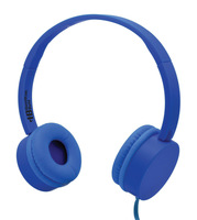 KidzPhonze Headset with In-Line Microphone (Blue)