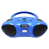 Boombox with BluetoothReceiver, CD/FM Media Player