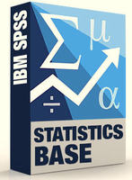 IBM SPSS Statistics Base Grad Pack 25.0 Academic (Windows Download - 12 Month License)
