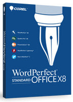 Corel WordPerfect Office X8 ESD License 1