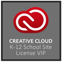 100 Seat Creative Cloud K-12 School Site Device Licenses, 1 Year Subscription Mac/Windows
