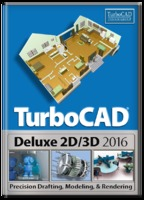 TurboCAD Deluxe 2016 (Electronic Software Delivery)