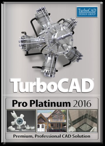 TurboCAD Pro Platinum 2016 (Electronic Software Delivery)